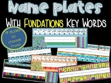 Name Plates or Desk tags keywords