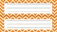Name Plates (Navy & Orange)