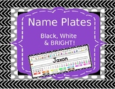 Name Plates- Phonics (with digraphs), Tens Frames, Color Words