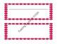 Name Plates - Polka Dot in 9 Color Options! Editable!