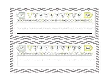 Name Plates (Simply Classroom)