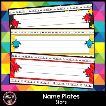 Star Name Plates