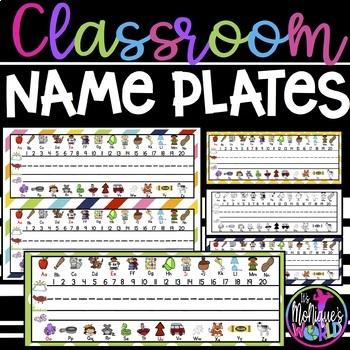 Student Name Tags / Student Name Plates