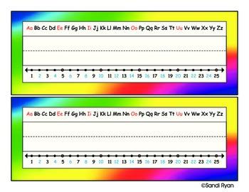 Name Plates - Tie Dye
