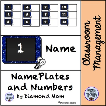 Name Plates and Numbers