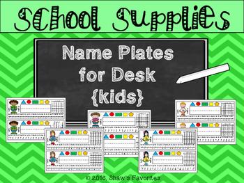 Name Plates for Desk