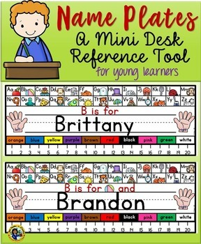 Name Plates Reference Tools 2