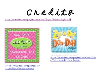 Name Plates- lime green with hot pink bunting