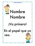 Name Poster Spanish Escribe Tu Nombre