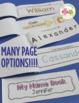 Name Books | Name Practice Editable Activity Books