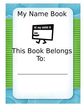 Name Practice Book