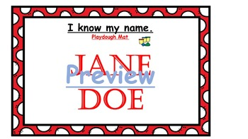 Name Practice Packets