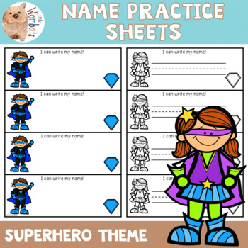 Name Practice Sheets