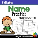 Name Worksheets *Set 1
