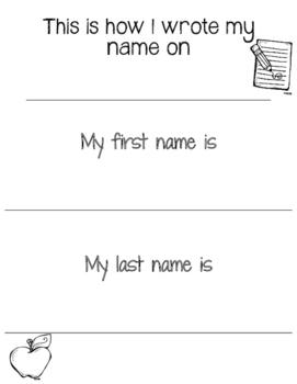 Name Progress FREEBIE