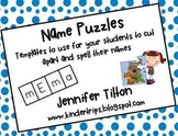 Name Puzzle Templates