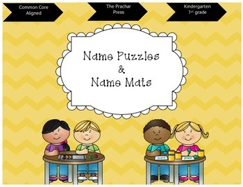 Name Puzzles Freebie