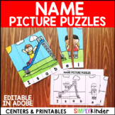 Name Puzzles - School Theme