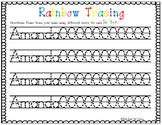 Name Rainbow Tracing (Editable)