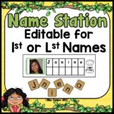 Name Activity Center - EDITABLE