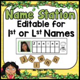 Name Activity Center - EDITABLE