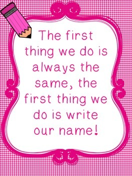 Name Rhyme Posters