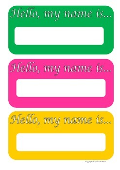Name Signs