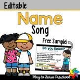 Name Song for Circle Time - FREE