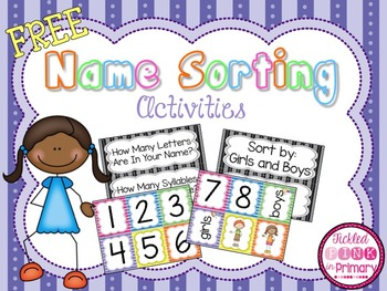 Name Sorting Activities
