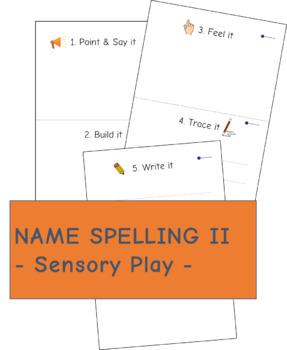 Name Spelling II - Sensory Play