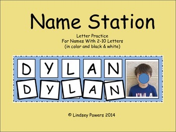 Name Station - Building Names with Letter Tiles