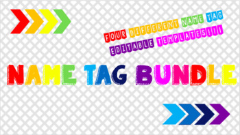 Name Tag Bundle!