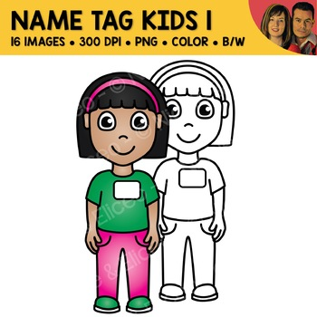 Name Tag Clipart 1