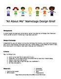 Name Tag Design Brief STEM