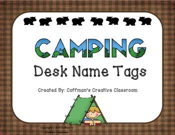 Name Tag Desk Plates