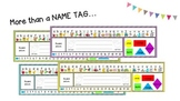Educational Name Tag Labels