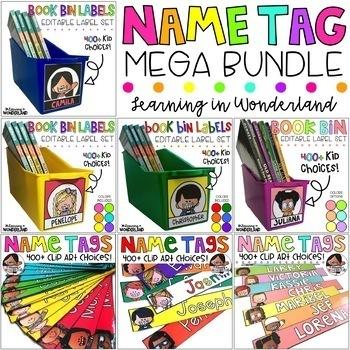 Name Tag Mega Bundle