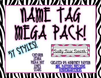 Name Tag Mega Pack