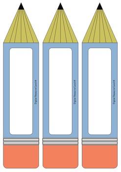 Name Tag Pencil Pack