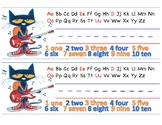 Pete the Cat Desk Name Tags