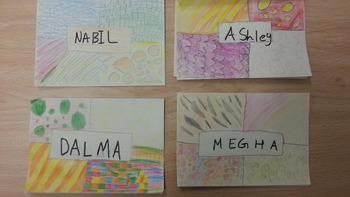 Name Tag pattern examples