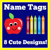 Desk Name Tags Plates | Lined