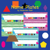 product thumbnail name plates - Periodic Table Name Plate