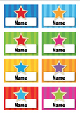 Name Tags, Editable Word Doc