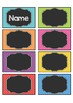 Name Tags | Bright, colorful and editable!