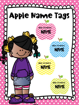 Name Tags Apple Brights