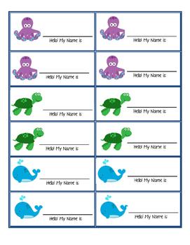 Name Tags (Aquarium)