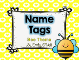Name Tags (Bee Theme)