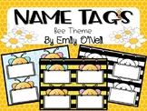 Name Tags (Bee Theme)