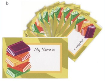 Name Tags - Books